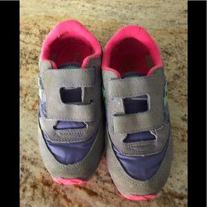 Saucony baby jazz HL sneakers girl's gray